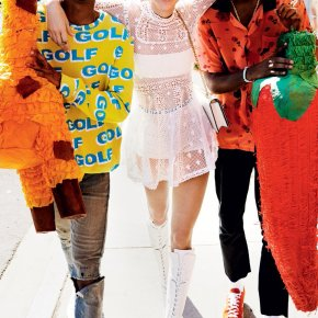 Kendall Jenner; Tyler, The Creator; and Taco Bennett Take Over the Vogue Set [Video]